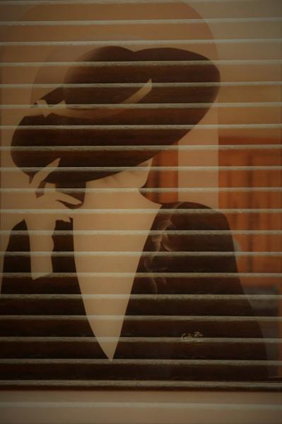 Alain Hervet - La dame au chapeau