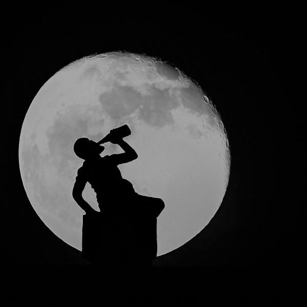Alain Hervet Bien noir au clair de lune
