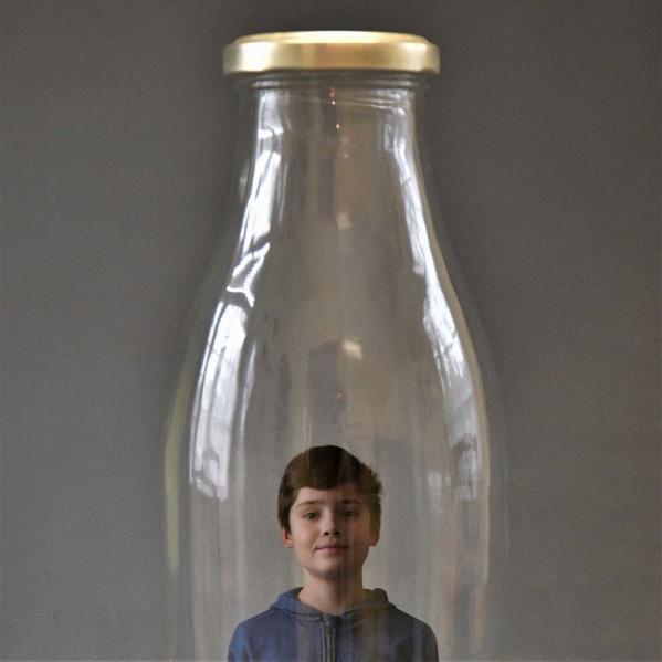 Alain Hervet - Sourire en bouteille