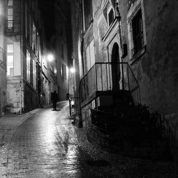 Didier Damour - Silhouette au carre