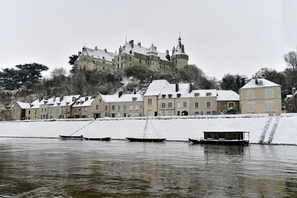 Jean Michel Guichard - Chaumont sous la neige