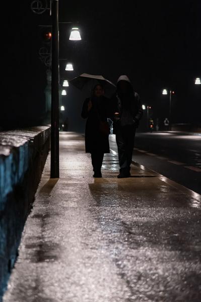 Xavier Kruger - Silhouettes en contre nuit